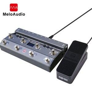 Image 1 - TS Mega 2 In 1 Midi Fuß Controller Mit Audio Interface Gitarre Pedal USB Aufnahme Für iPhone iPad Android Geräte mac PC
