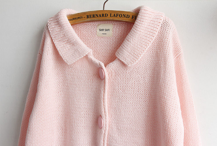 64626890e Detail Feedback Questions about 2018 New Baby Pink Cardigans ...