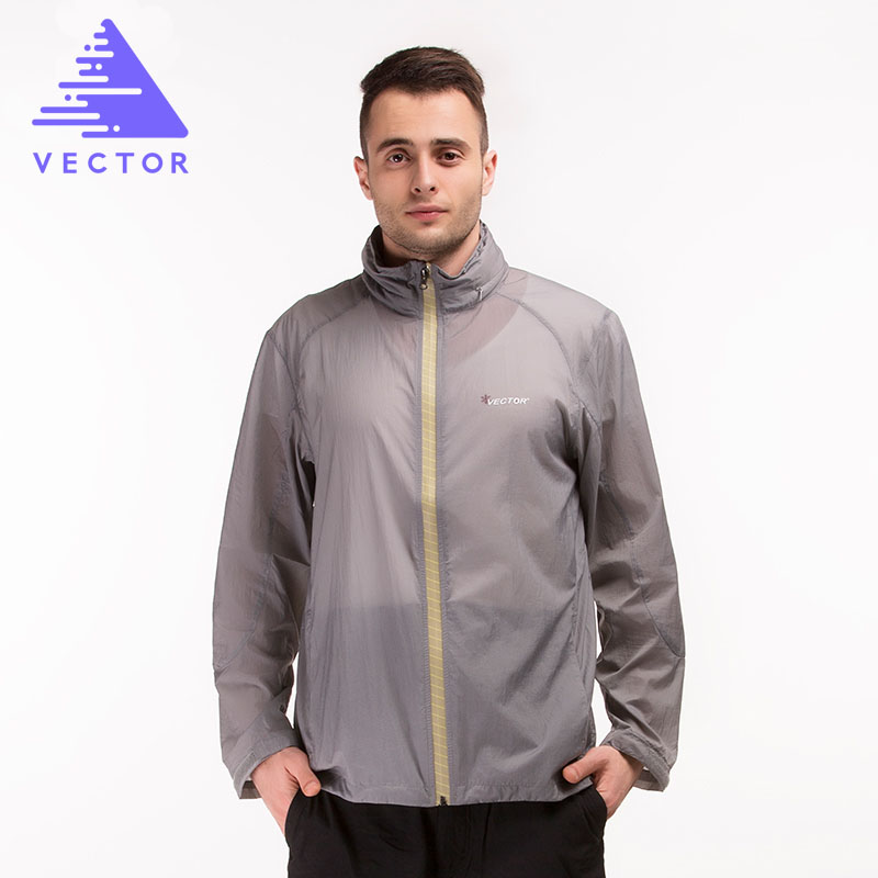 Running Jacket Men Light Thin Skin Hooded Packet Travel Hiking Camping Cycling Jersey Hooded Waterproof Run Jackets