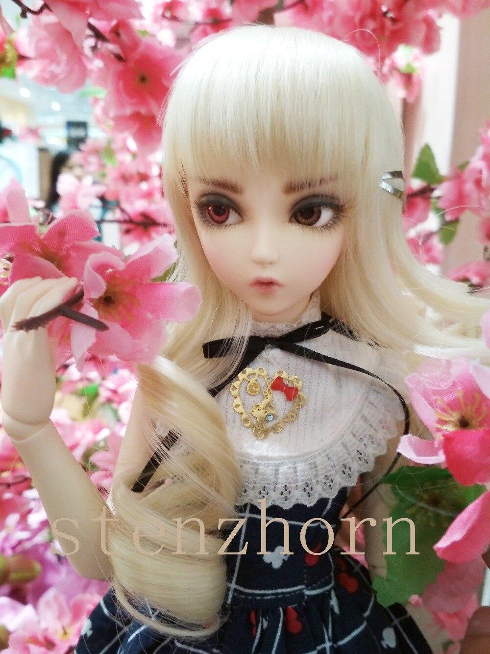 Bjd/poupée chloé Celine Mio Mika BJD poupées 1/4 douce mode fée nue jouets pour filles cadeaux d'anniversaire