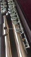 Золотой лак высокого качества Muramatsu флейта 16 ключей закрытые отверстия абсолютно новое поступление музыкальный инструмент флейта с чехлом