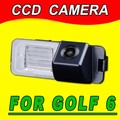 CCD Para VW Passat CC Jetta Skoda Seat altea Golf Cámara Back Up Opinión Posterior del Revés Del Coche Parking impermeable HD