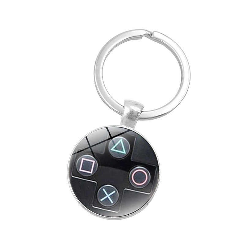2018 new Brand Game controller key chain geeky boyfriend perfect good gift idea jewelry video game controller pattern keychain