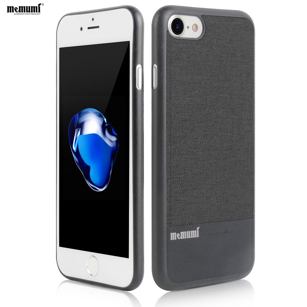 2016 Newest memumi case for iphone7 7 plus Ultra-thin Protection 4.7 5.5 Canvas+Woolen Anti-scratch Cover Man Woman  iPhone