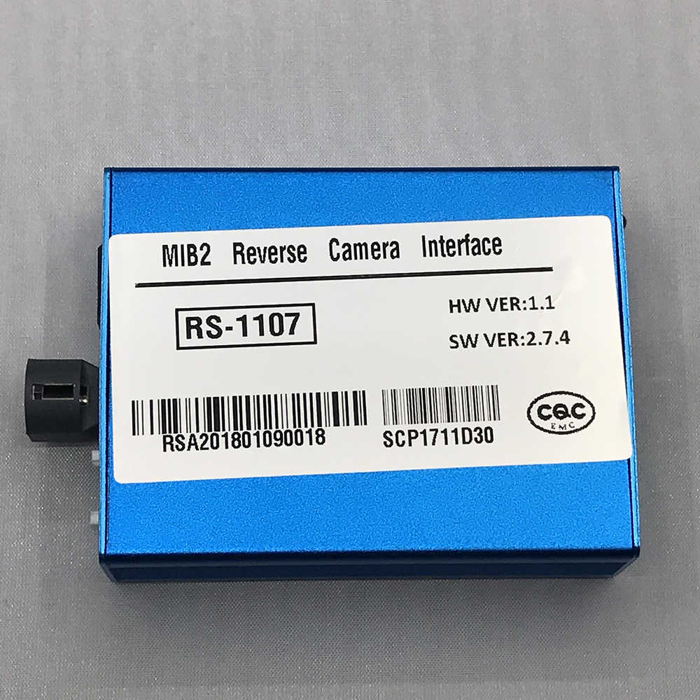 Car Smart Camera Vehicles Media Video Interface For 2014-2018 Audi  Volkswagen VW MIB And MIB2 System With Parking Guidelines