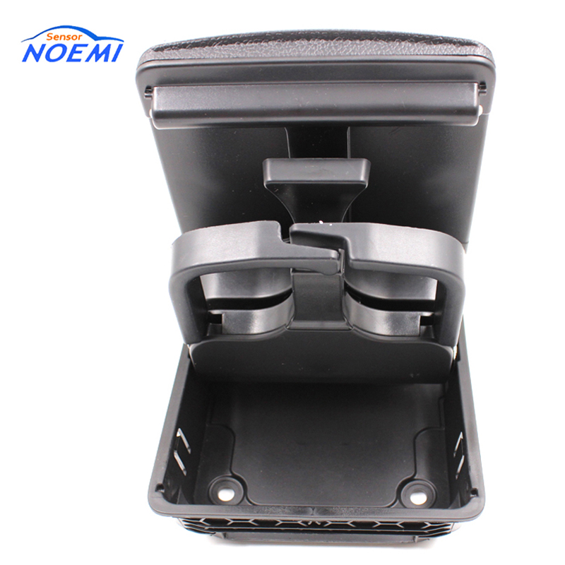YAOPEI 1K0862532 Folding Center Console Rear Cup Holder For Volkswagen Golf 5 6 Black 1K0862533 folding cup holder