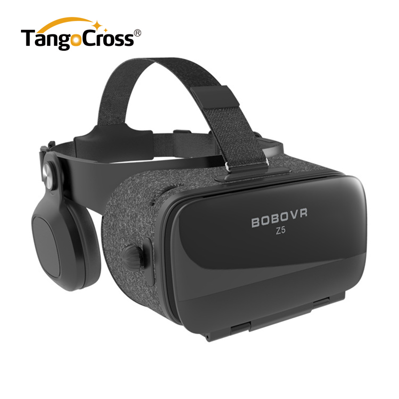 Nya BOBOVR Z5 VR-glasögon Virtual Reality Headset BOBO VR Z5 Google Kartong VR Box för iPhone för Xiaomi Android Smartphone