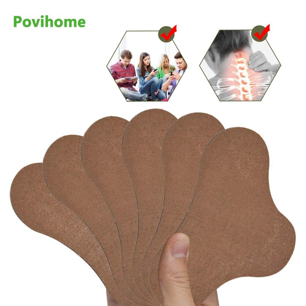 6pcs Neck Wormwood Medical Plaster Joint Ache Cervical Spondylosis Pain Relieving Sticker Rheumatoid Arthritis Patch D1882