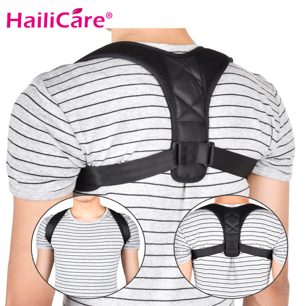 Upper Back Brace Support Belt Adjustable Back Posture Corrector Body Clavicle Spine Back Shoulder Lumbar Posture Correction