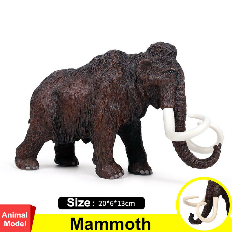 Forest Mammoth Figure Wild Animals Figure Adult Kids Collection Science Education Toys Gift Home Decor