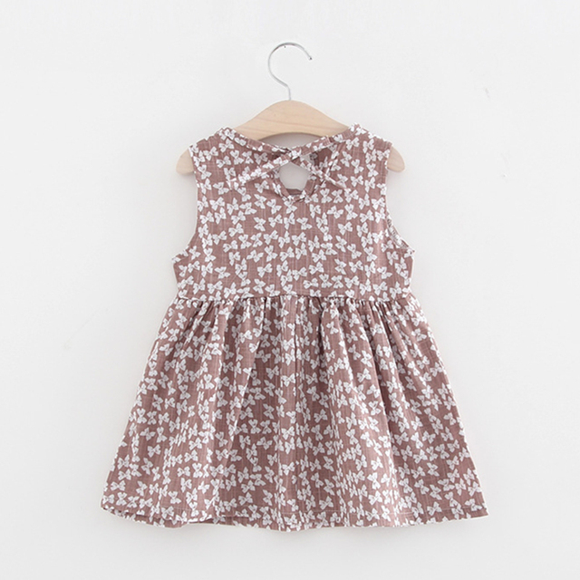 fa617eb6832 Floral Dress for Baby Girls Clothing Children Princess Pattern Dresses for  Wedding Party Infant Cotton Dress 2018 Fashion Summer