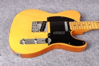 Free Shipping Wholsale Guitarra TL Guitarra Yellow Color Oem Electric Guitar Guitar In China