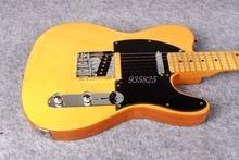 Бесплатная доставка Оптовая продажа гитары ra TL ra/желтый цвет oem электрогитары/гитары в Китае