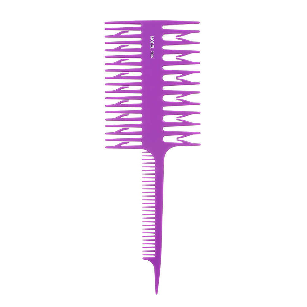 מקצועי עיצוב שיער צביעת צביעה גוון מסרק סלון כלי חתך המדגיש אריגת חיתוך מסרק לשיער