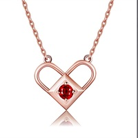 925 Sterling Silver Cute Romantic Locket Heart Charms Magic Necklace Love Birthday Valentine Day Gifts For