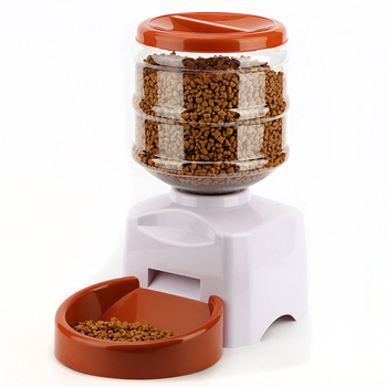 5.5L Automatic Dog Feeder with LCD Screen 3