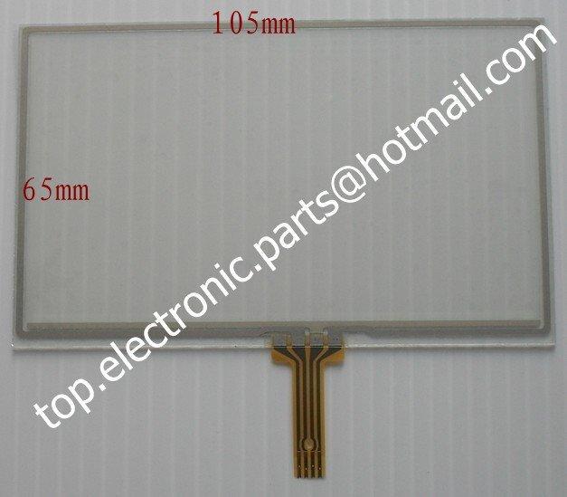 4.3 ''дюймовый 105 мм * 65 мм 721Q310B63-A2 721Q310B63 Н-H043L-07C дигитайзер сенсорный экран сенсорный панель для MP4 MP5 MID GPS бесплатная доставка