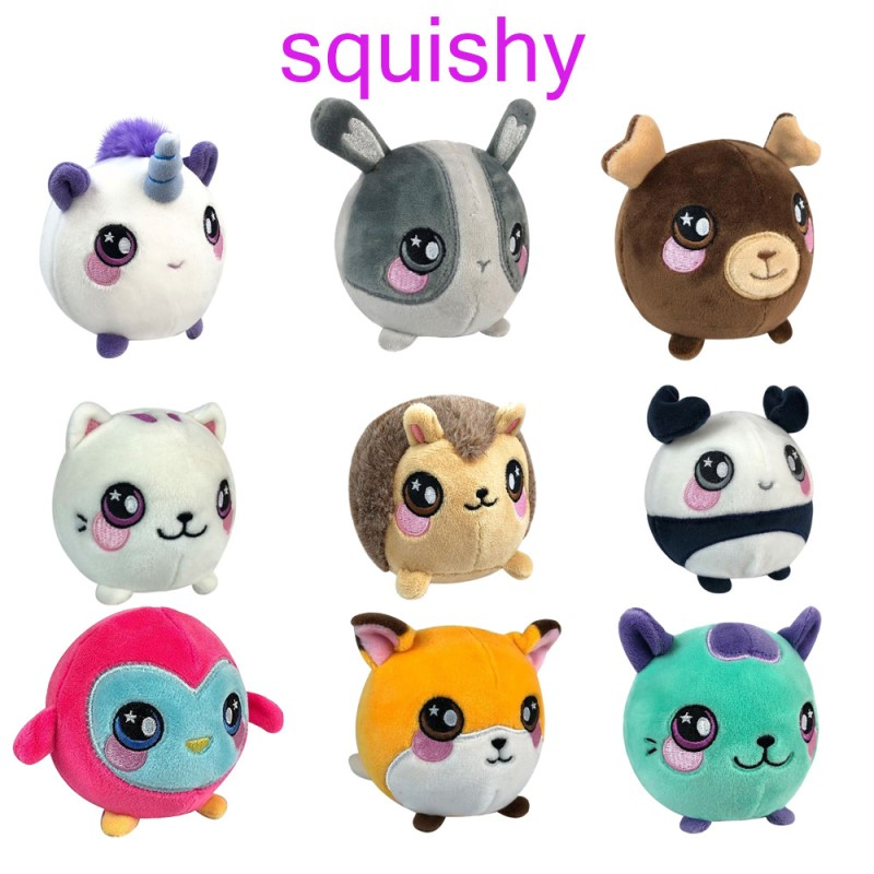 Squishy Toy Cartoon Design Unicorn Squishy Slow Rising Scented Children's Toys Kawaii Squish Anti Stress Toy Stress Reliever