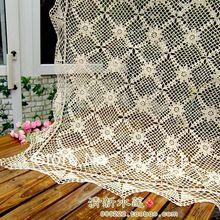 Кружевная скатерть с цветами, квадратная скатерть с вырезами, скатерть для столовой, скатерть из хлопка, кружевная Декоративная скатерть