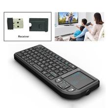 Pour PC Portable Smart Google Android TV Box: Rii mini X1 De Poche 2.4 GHz RF Sans Fil Clavier Qwerty Avec Touchpad Fly Air Souris