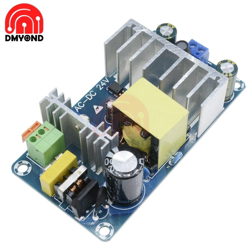 Модуль источника питания AC 110v 220v к DC 24V 4A к 6A AC-DC Импульсный блок питания 4A-6A 24V 100W
