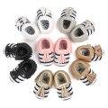 2017 Детские Мокасины Новорожденных Обувь Мягкое Дно Моды Кисточки ПУ Кожа Prewalkers Сапоги Детские Первые Ходунки для Детей