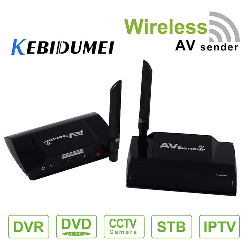 Kebidumei 5 8GHz HDMI AV Sender TV Wireless Audio Stereo Video Transmitter Receiver 720 576P Resolution