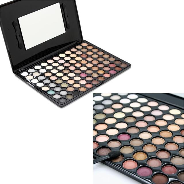 2016 hot venda nova chegada natural cores 88 tipos perolado sombra de olho paleta de maquiagem conjunto