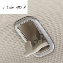Автомобиль Стайлинг для Mercedes Benz S class W222 s320 s350 S400 2014-2017 автомобиль-Стайлинг ABS Chrome автомобилей крыша Крюк Крышка отделка Аксессуары