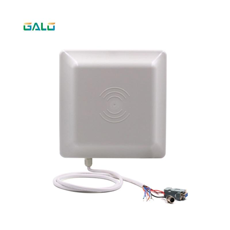 UHF RFID lecteur de cartes 6 m longue distance gamme avec 8dbi Antenne RS232/RS485/Wiegand TCP/IP Lire Intégrative UHF lecteur