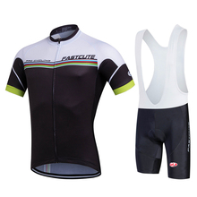 Fastcute Men's Cycling Clothing Bike Sportswear Short Sleeve Top Shirt Bicycle Quick-Dry Riding Ropa Ciclismo Cycling Jersey