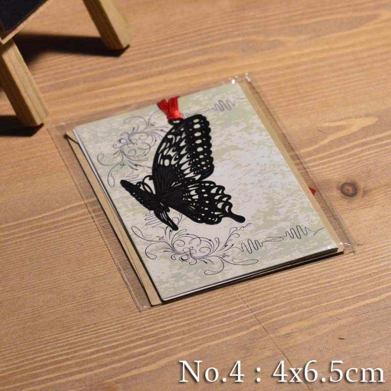 ni/ños y ni/ñas Konrisa ni/ñas regalo para mujeres Marcador de plumas de metal con colgantes de mariposa 3D para leer y amantes de libros hombres