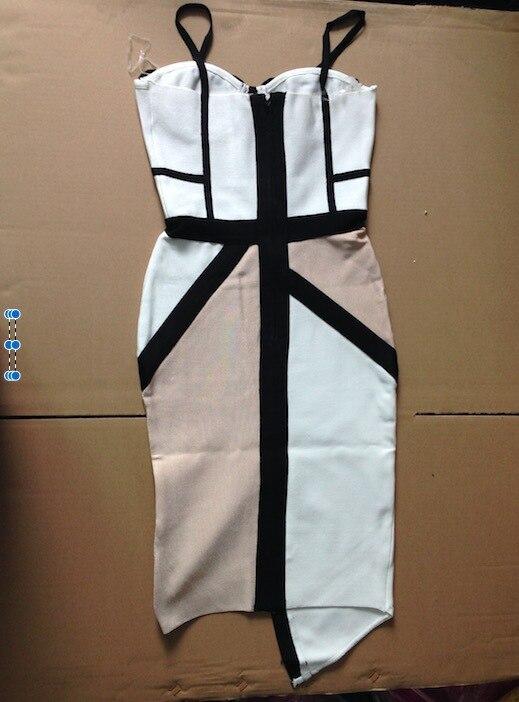 Новинка, Новое поступление высокое качество, белый, телесный и черный цвет заблокирован ремни Бандажное платье для вечеринок платье; ; платье+ пиджак