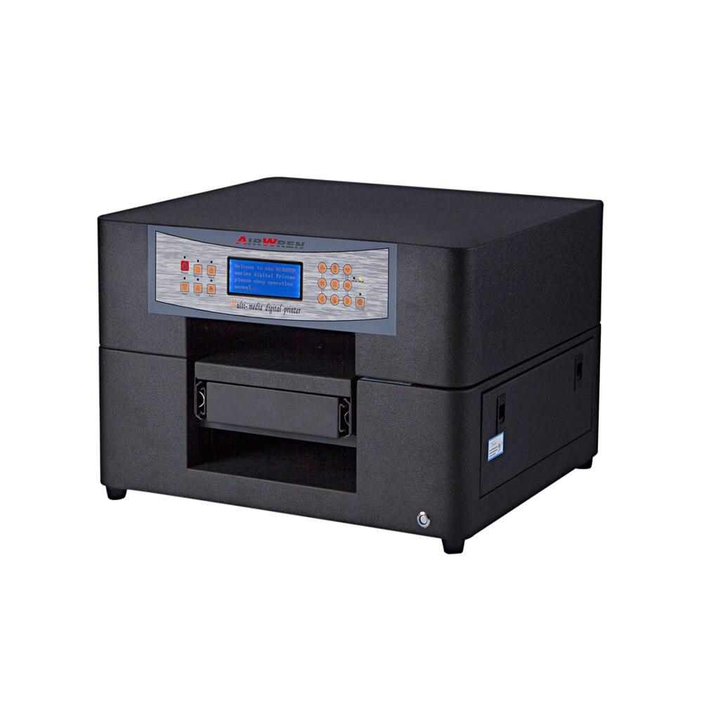 Мини формат 630x600x430 мм (WxLxH) УФ принтер для передвижной рекламный щит