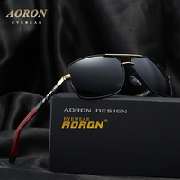 Aoron 2016 Fashion High Grade Metal Frame Polarized Sunglasses Men S Classic Sun Glasses Unisex Leisure