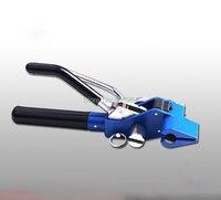 Fita de aço inoxidável que cinta o tipo da engrenagem do strapper do alicate que envolve a máquina de encadernação manual/envolvimento  ferramenta de corte do laço do cabo