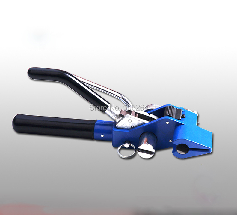 Stainless steel Band strapping plier strapper, Gear type wrapper, Manual binding/wrapping machine,Cable tie cutting tool marine cable tie pliers scissors stainless steel ties strapping tightening tool 4 6 300 100