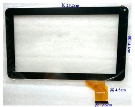 Nueva original de 9 pulgadas táctil capacitiva de la tableta pantalla LKW0093 FPC envío libre