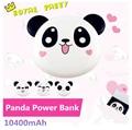 2016 prohibición de alimentación 4800 mah powerbank panda regalos lindo papa 6 color para xiaomi iphone android cargador portátil de copia de seguridad caliente venta al por mayor
