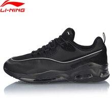 Li ning 남자 버블 페이스 ii 워킹 신발 착용 가능한 anti slippery lining 컴포트 스포츠 신발 피트 니스 스 니 커 즈 agp005 sjfm19