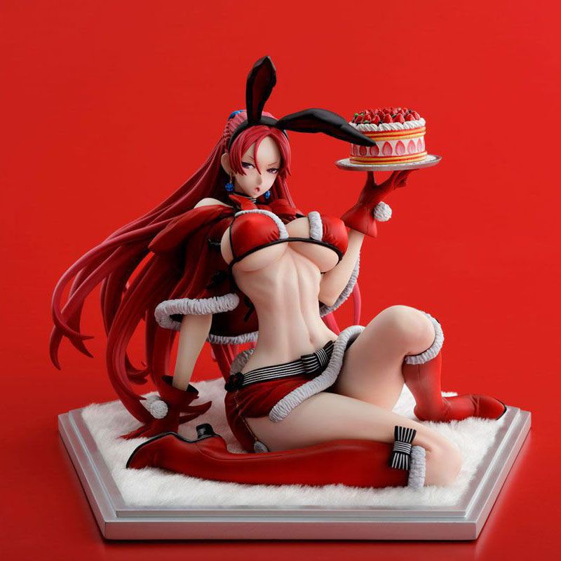 Anime Valkyria Chronicles Juliana Everbart X'mas Party Ver.1/7 Scale Sexy Figure Collectible Model Toys for Christmas gift anime valkyria chronicles selvaria bles christmas style sexy girl model pvc action figure collection model toys christmas gift