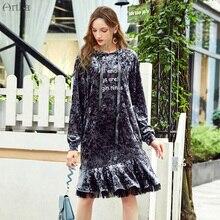 moda artka costura vestido