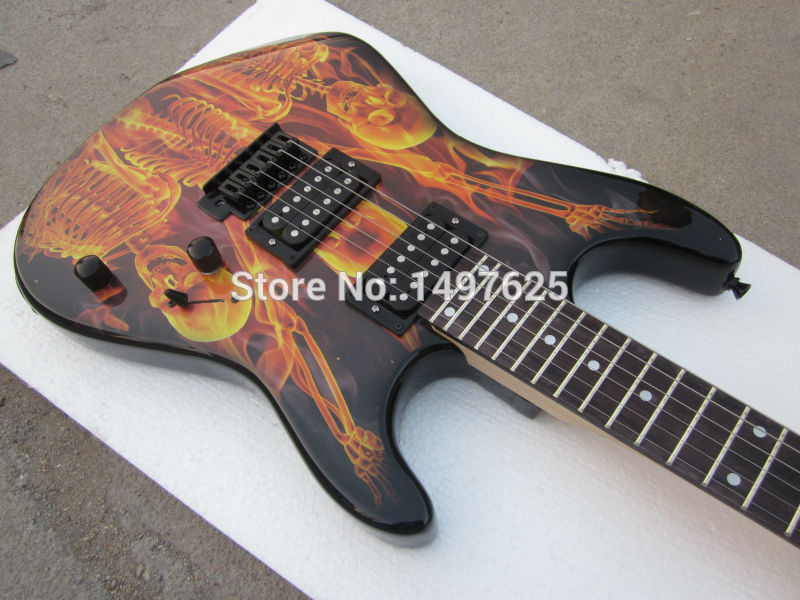 Free Shipping Wholesale New Fen St Electric Guitar Black