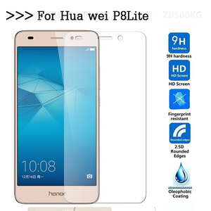Image 2 - 9H Tempered glass For Huawei P8 lite ALE L21 CL00 L02 L23 UL00 L21 L04 Screen Protector sklo Film Case Cover for huawei p8lite