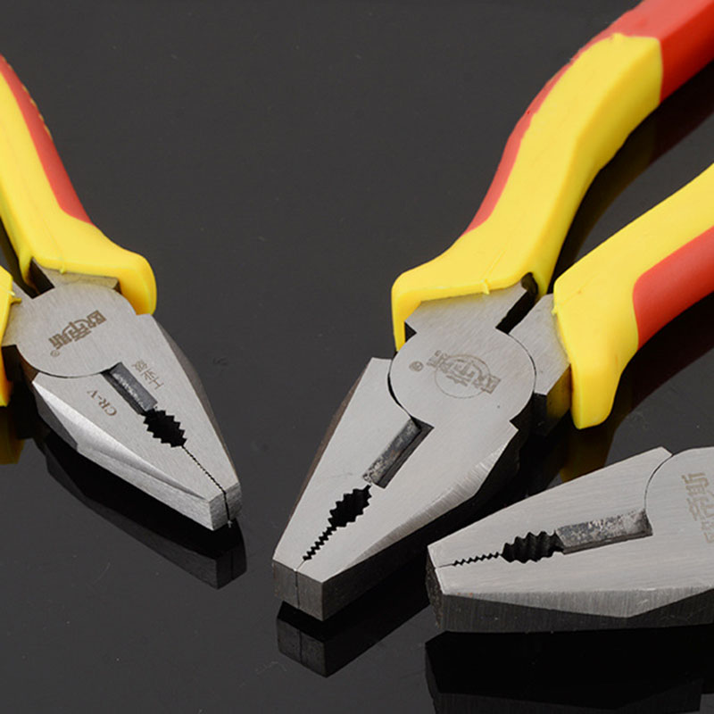 Купить с кэшбэком Free Ship! OUDISI Wire Cutter Industrial-Grade Wire Pliers Professional Pincer Pliers High Hardness Household Cutting Pliers