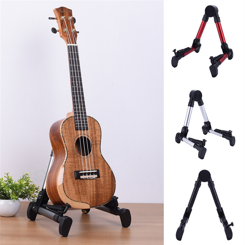 Meideal FP-10 Guitar Stand Universal Folding A-Frame use For guitar stand holder red black silver gray color цена 2017