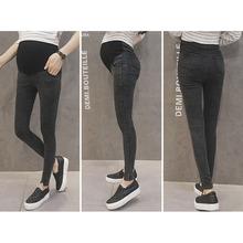 Spodnie dla ciężarnych kobiet Odzież elastyczna talia ciążowe spodnie brzuch Ciąża dżinsy stretch legginsy Odzież Maternidad tanie tanio