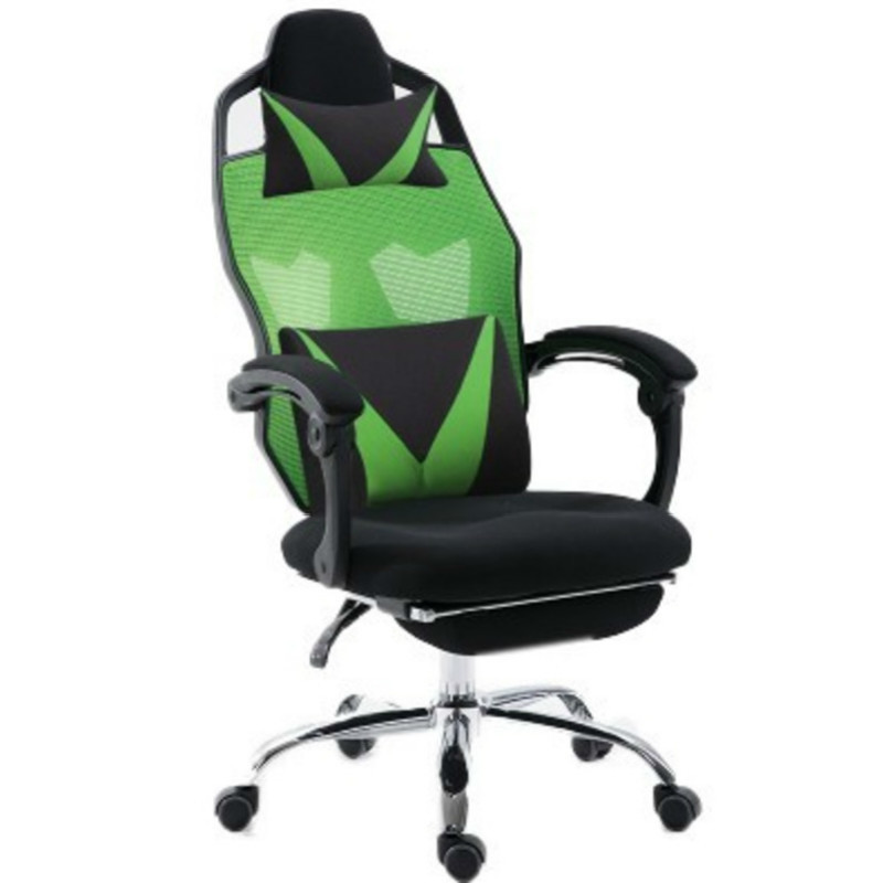 Luxury Quality Esports Boss Office Live Breathable Cushion Lacework Chair Can Lie Ergonomics With Footrest Massage Household