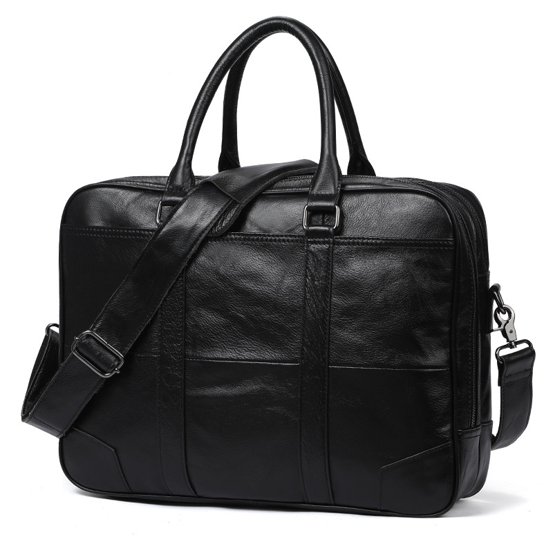 Luxury European And American Fashion Genuine Leather Mens Bag Big 15 Laptop HandBag Natural Cow leather Men Business BriefcaseLuxury European And American Fashion Genuine Leather Mens Bag Big 15 Laptop HandBag Natural Cow leather Men Business Briefcase