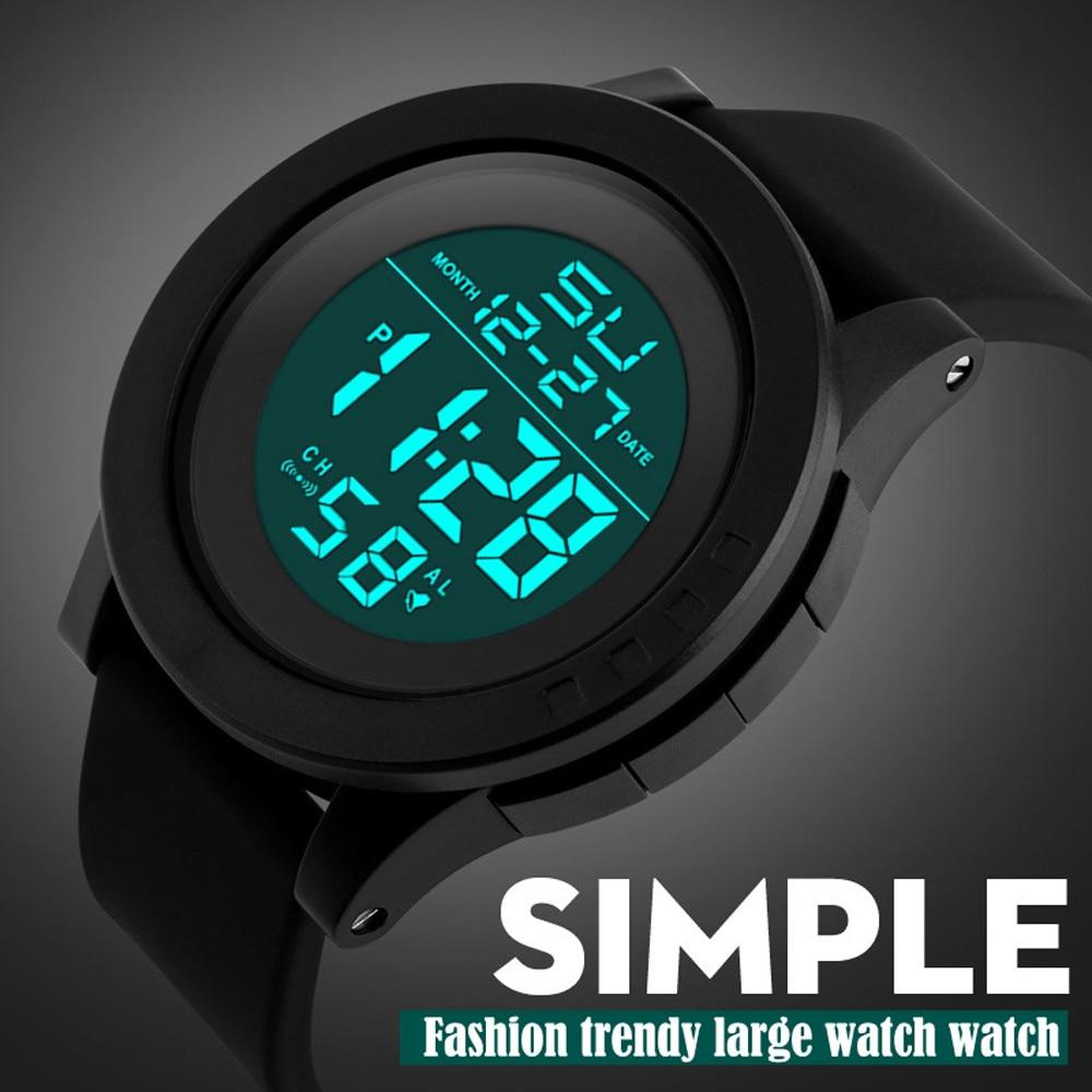 Digital Watch Men Women Relogio Sport LED Waterproof Digital Quartz Fashion Watch Military Sports Men's 2019